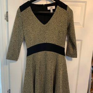 Belle Badgley Mischka Dress w/ Shoulder Detail
